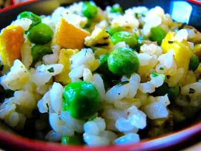 Cuisine asiatique : riz cantonais végétarien 1