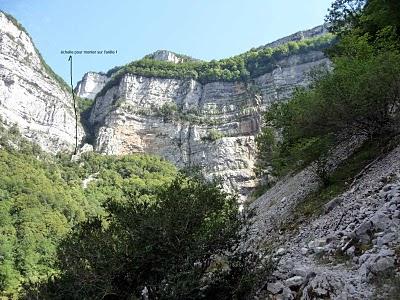 Randonnée en Isère dans le Vercors près de la grotte de Choranche 5