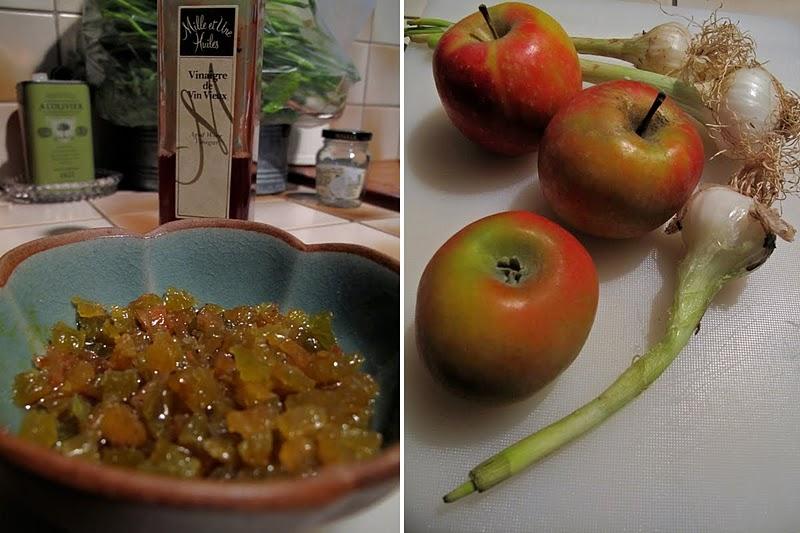 Taboulé persillé pommes et raisins : recette libanaise revisitée et surprenante 2