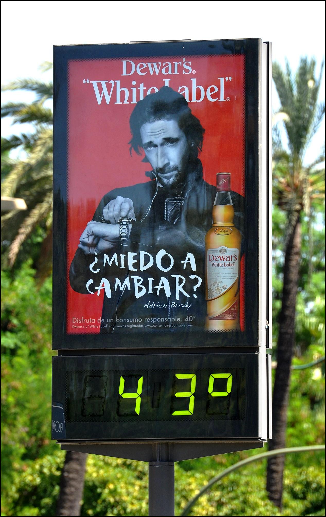 haute temperature seville andalousie