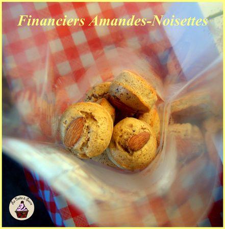 577d4 58316313 p Financiers aux amandes et noisettes ; pâtisseries exquises (Recette francaise)