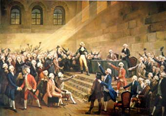 Etats Généraux du Dauphiné au Chateau de Vizille le 21 juillet 1788 3