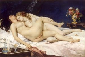 La Scène érotique chez Gustave Courbet 1