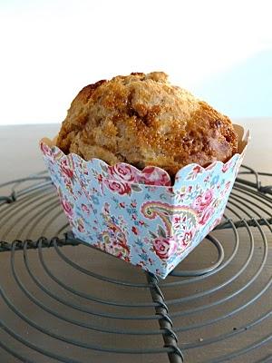 Muffins aux framboises ou pomme cannelle du Pain Quotidien 2