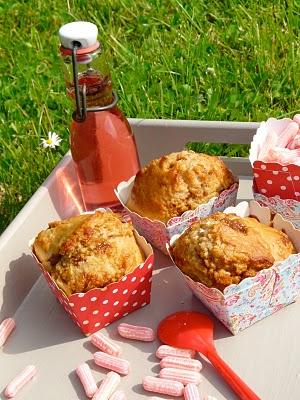 Muffins aux framboises ou pomme cannelle du Pain Quotidien 1