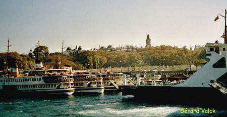 istanbul bateaux sérail