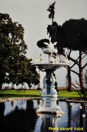 Jardins du Palais de Dolmabahçe