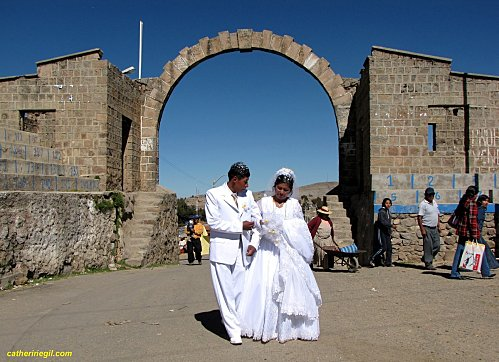 Un mariage à la frontière Pérou Bolivie