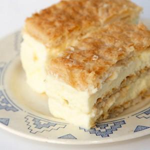 recette croate Kremšnite millefeuille de Samobor