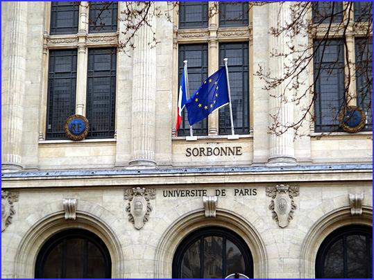 Paris sorbonne rue des ecoles