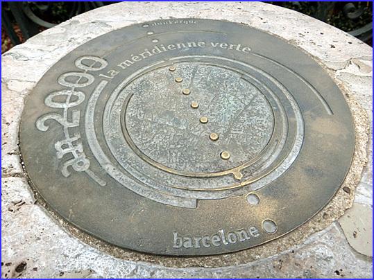 Paris meridienne verte jardin de l'observatoire