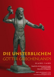 les dieux immortels de la grece exposition munich