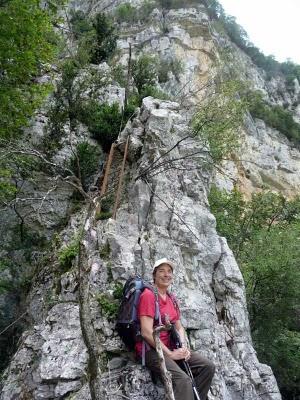 Randonnée en Isère dans le Vercors près de la grotte de Choranche 1