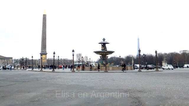 Place de la Concorde à Paris : Paris touristique en photos 6