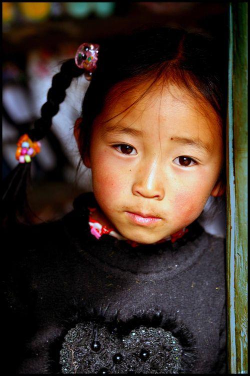 Blog 136 - petite fille, Shaxi