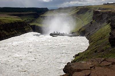 Tourisme Islande - Cascade de Gulfoss et Geysir 3