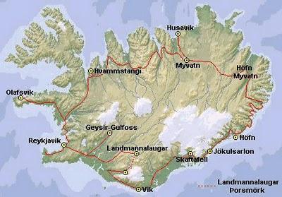 Tourisme Islande - Cascade de Gulfoss et Geysir 6