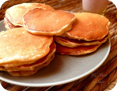 Recette americaine de pancakes l 39 peautre cuisine - Recette traditionnelle cuisine americaine ...