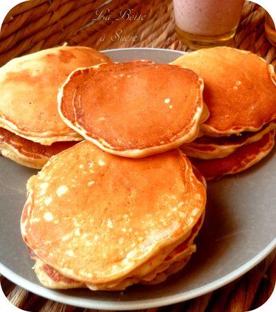 recette américaine de Pancakes epeautre