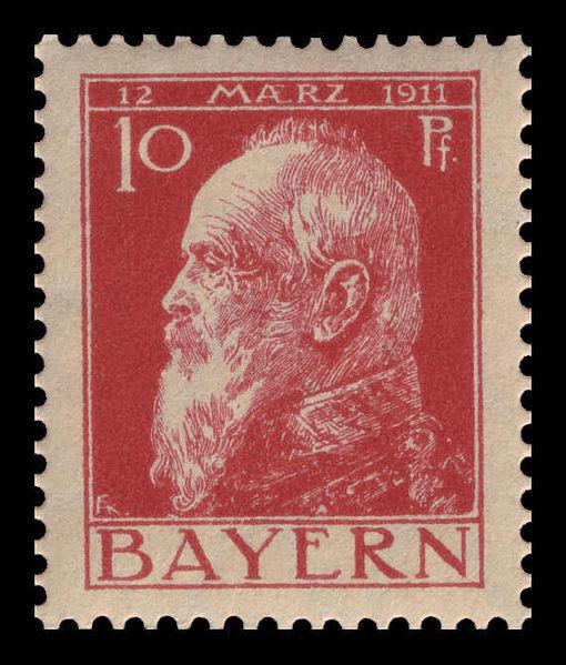 Datei:Bayern 1911 78 Prinzregent Luitpold.jpg