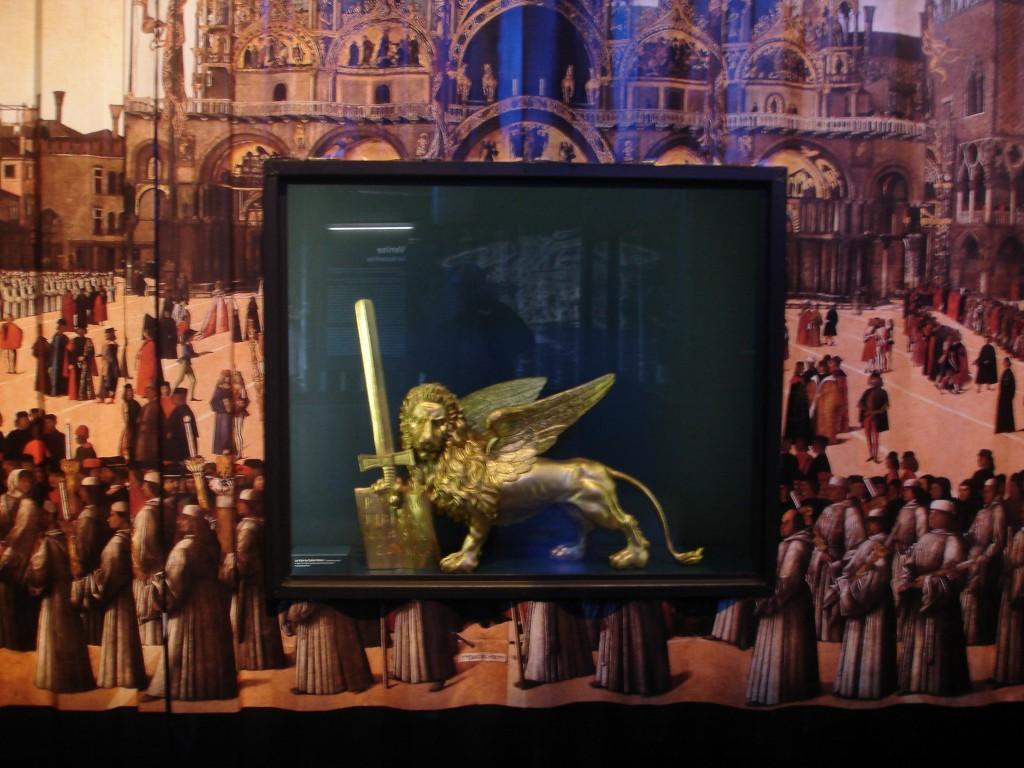 exposition méditerranée à marseille lion de Venise