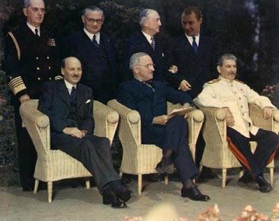 De la guerre mondiale à la guerre froide : la conférence de Postdam 3