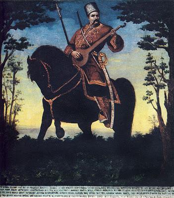 Histoire de l'Ukraine - Le Cosaque Mamay ; héros folklorique ukrainien 3