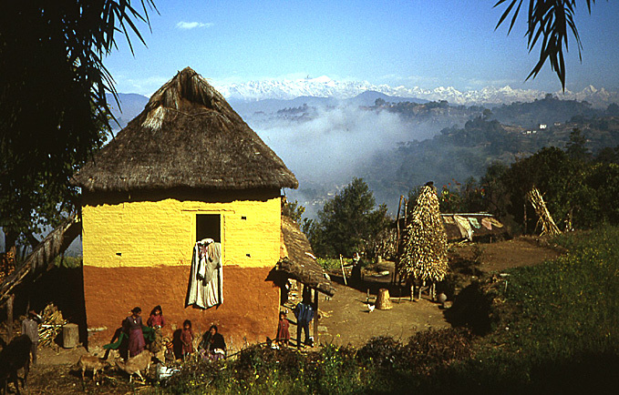 ferme nepal valle de katmandou