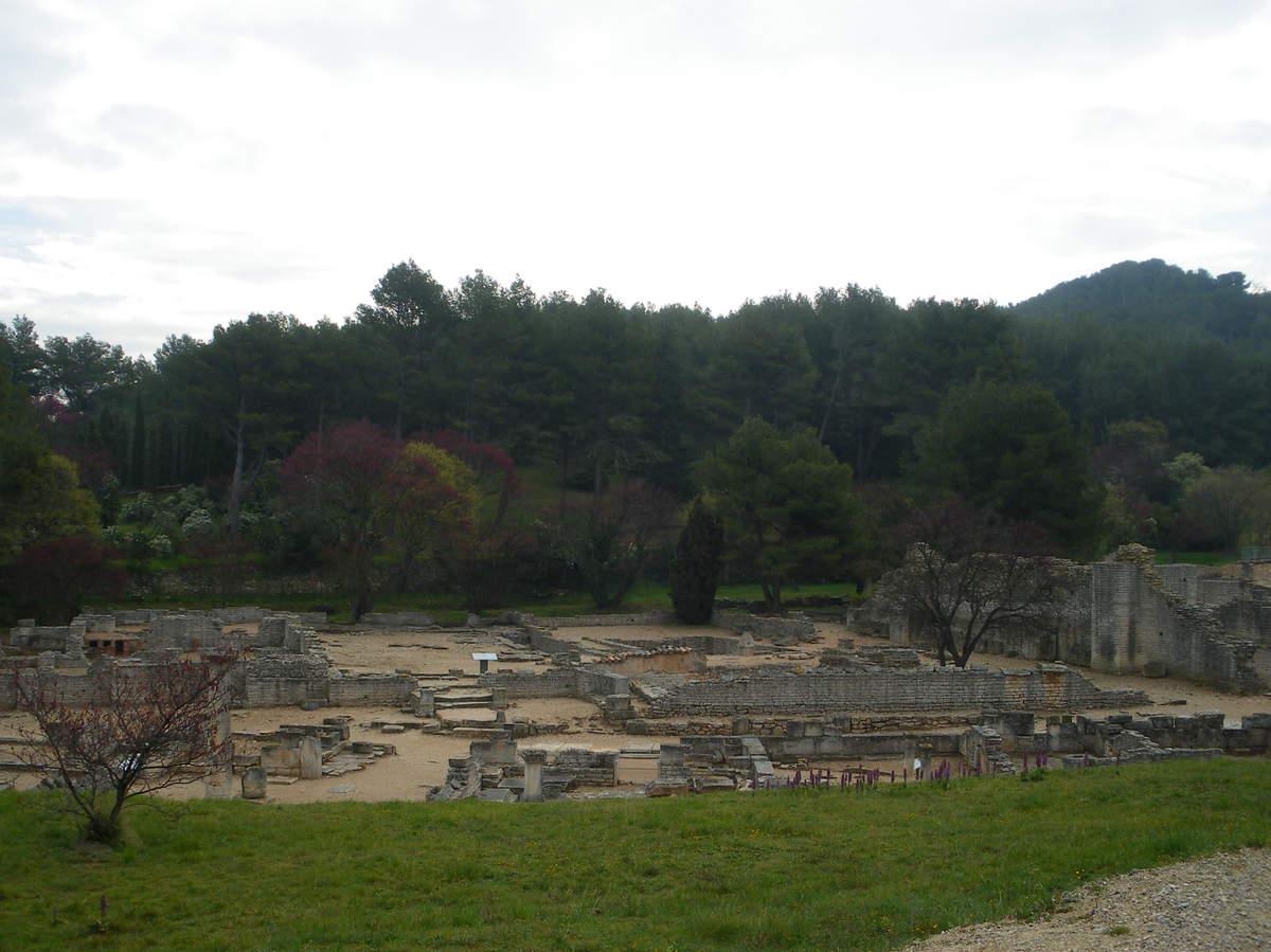 Saint-Rémy-de-Provence : plateau des Antiques et site archéologique de Glanum 3