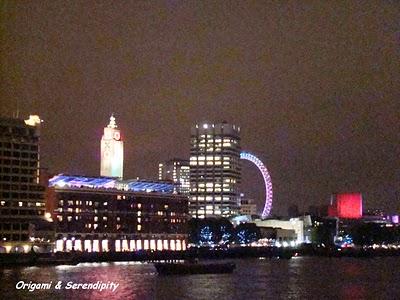 Londres de nuit - Night in Southbank, promenade au bord de la Tamise 8