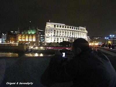 Londres de nuit - Night in Southbank, promenade au bord de la Tamise 9