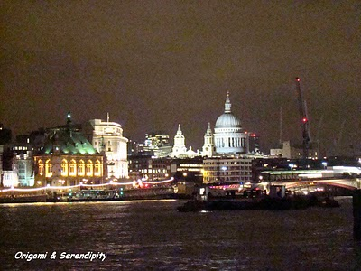 Londres de nuit - Night in Southbank, promenade au bord de la Tamise 7