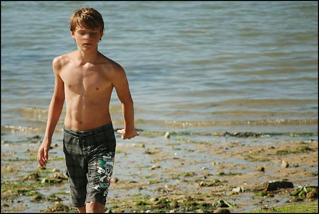 Adolescent de plage manquant après