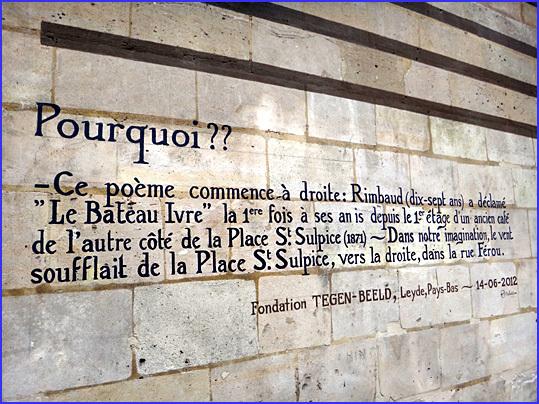 Paris rimbaud rue ferou