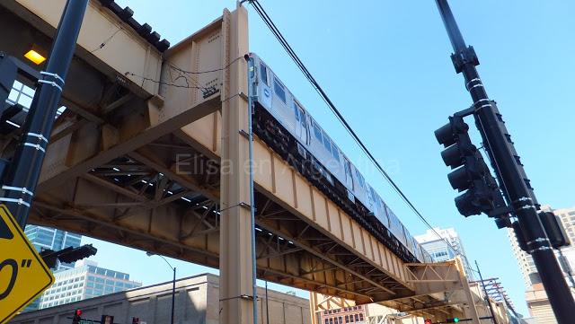 Chicago : Le Loop, aventures dans le train suspendu 12