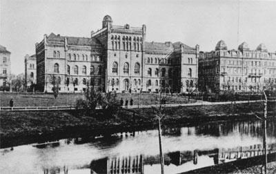 28 Septembre 1919: fondation de l'Université de Lettonie 2