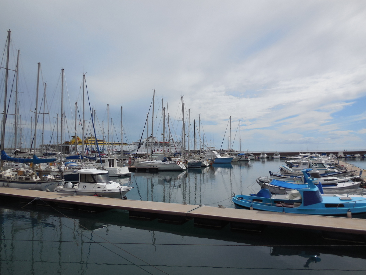 Le port de San Sebastian de la Gomera.