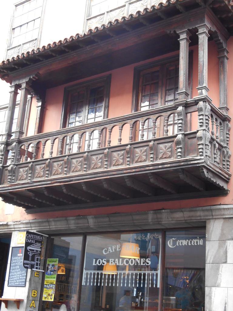 Type de balcon caractéristique...