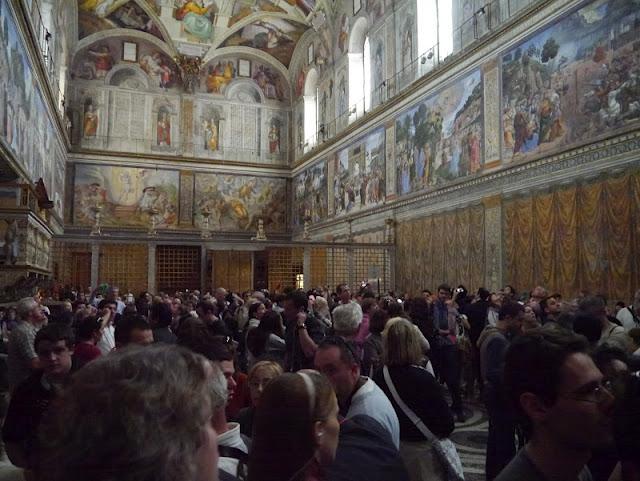 chapelle sixtine vatican