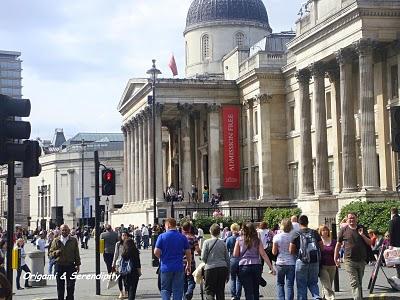 Tourisme Londres : s'amuser à Trafalgar Square 1