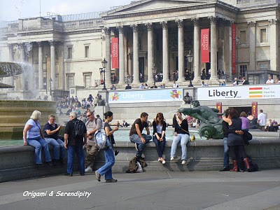 Tourisme Londres : s'amuser à Trafalgar Square 3