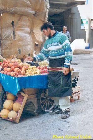 istanbul vendeur de fruits