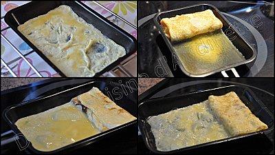 omelette feuilletée japonaise