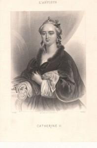 Catherine II et son cabinet érotique 1