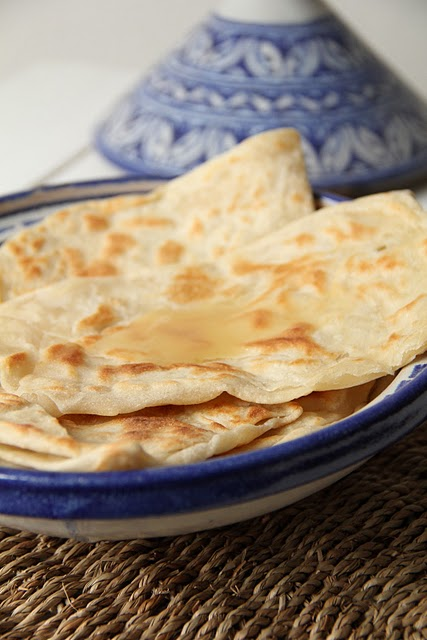 M'semen ; recette de crêpes marocaines  (Cuisine marocaine) 4