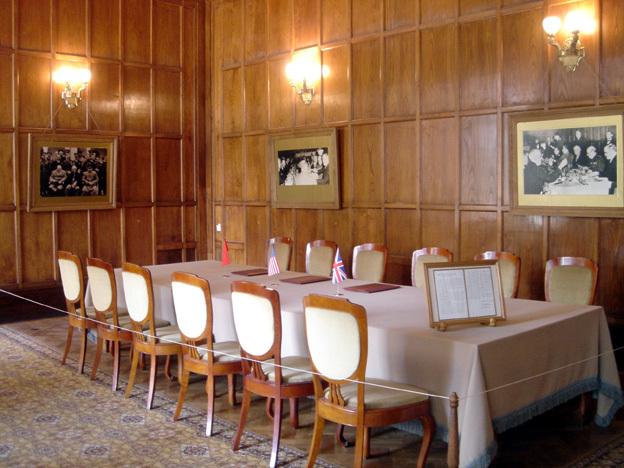 yalta palais livadia table de la conference