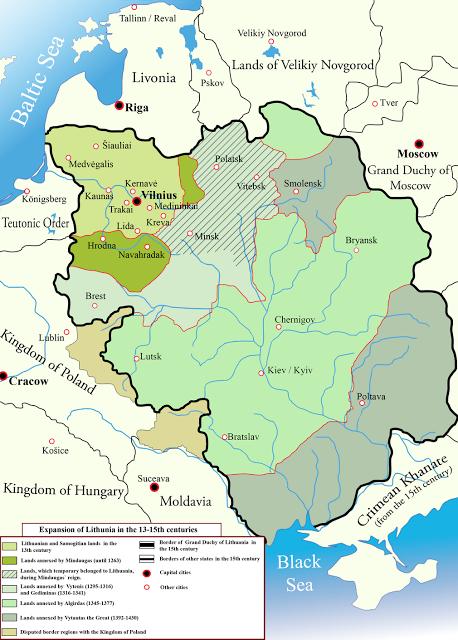 Création et Histoire de de Vilnius; une ville devenue la capitale de la Lituanie 5