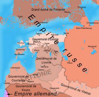 Histoire de l'Estonie ; 24 Février 1918, la Déclaration d'indépendance 1
