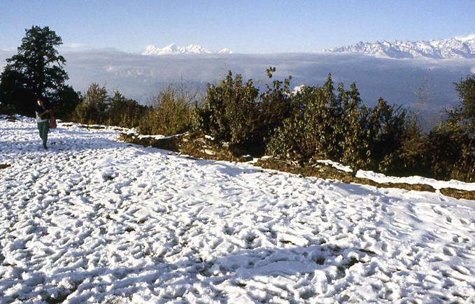 neige a siwapuri nepal
