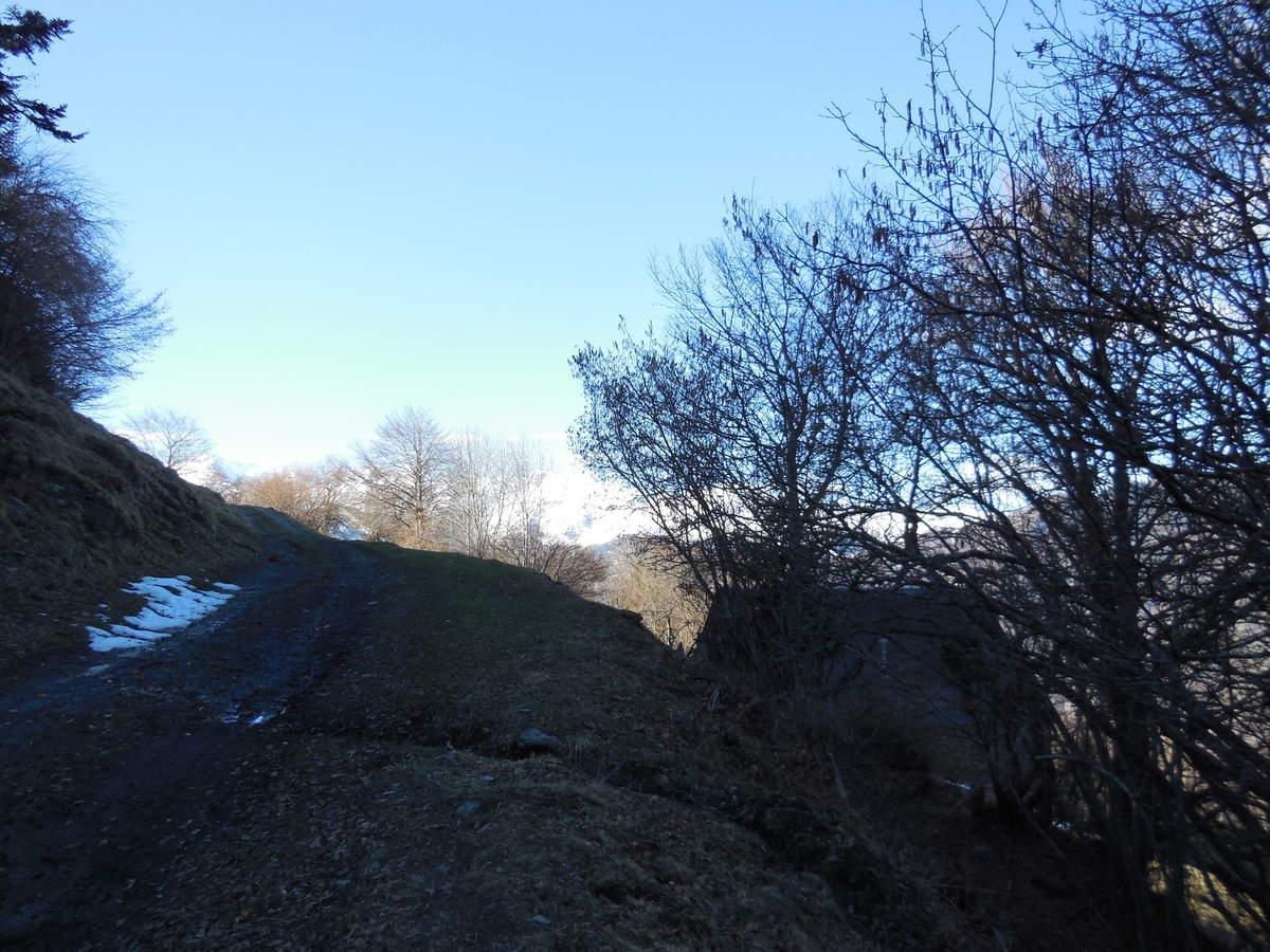 Passage à proximité de la grange de Caubet...